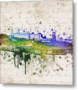 The Rock Metal Print by Aged Pixel