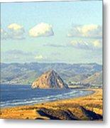 The Rock At Morro Bay Metal Print