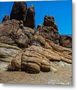 The Rock Formation Metal Print