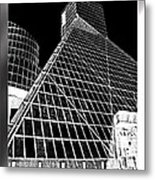 The Rock Hall Cleveland Metal Print