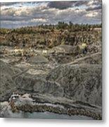 The Rock Quarry Metal Print