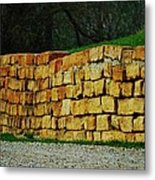 The Rock Wall Metal Print