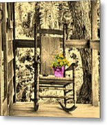 The Rocking Chair Metal Print
