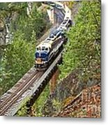The Rocky Mountaineer Railroad Metal Print