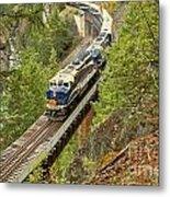 The Rocky Mountaineer Train Metal Print