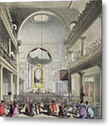 The Roman Catholic Chapel, Lincolns Inn Metal Print