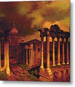 The Roman Forum Metal Print