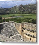 The Roman Theatre In Aspendos Antalya Turkey  Metal Print