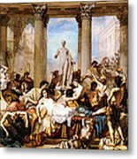 The Romans Of The Decadence Metal Print