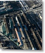 The Rooftops Of Arcelormittal Dofasco Metal Print