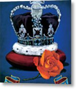 The Rose & Crown Metal Print