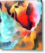 The Rose Flower Metal Print by Odon Czintos