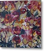 The Roses Metal Print