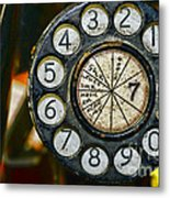 The Rotary Dial Metal Print