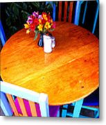 The Round Table Metal Print