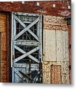 The Roundhouse Evanston Wyoming - 2 Metal Print