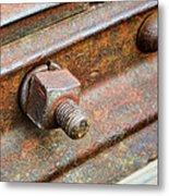 The Roundhouse Evanston Wyoming - 4 Metal Print