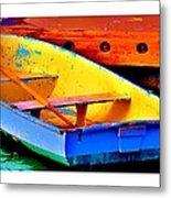 The Row Boat Metal Print