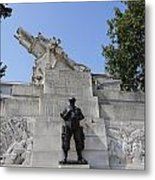 The Royal Artillery War Memorial By Charles Sargeant Jagger And Lionel Pearson In London England Metal Print