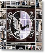 The Royal Connaught Crest Photo Collage Metal Print
