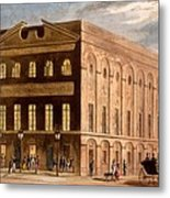The Royal Couborg Theatre, 1826 Metal Print