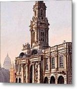 The Royal Exchange, 1816 Metal Print