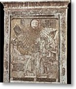 The Royal Family As The Holy Family Metal Print by Everett