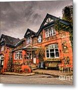 The Royal Oak At Dunsford Metal Print