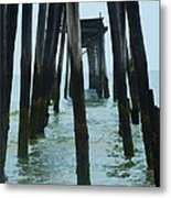 The Ruins Of The 59th Street Pier  Metal Print