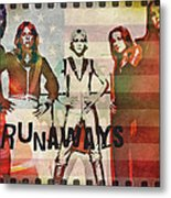 The Runaways - 1977 Metal Print