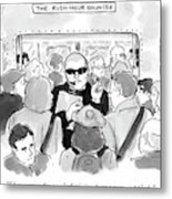 The Rush Hour Bouncer Metal Print