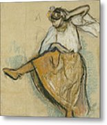 The Russian Dancer Metal Print