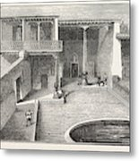 The Russian Expedition To Khiva Pavilion Occupied Metal Print