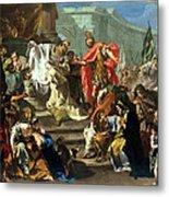 The Sacrifice Of Jephthahs Daughter Metal Print