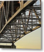 The Sagamore Bridge Metal Print by Luke Moore