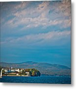 The Sagamore Hotel On Beautiful Lake George Metal Print