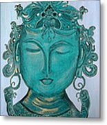 The Sage Metal Print by Karunita Kapoor