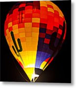 The Saguaro Balloon  Metal Print
