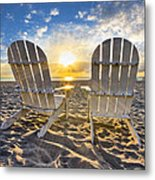 The Salt Life Metal Print