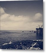 The Salty Air Metal Print