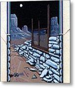 The Sand Painting Metal Print