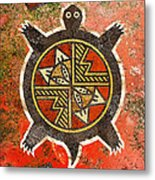 The Sand Turtle Metal Print by Sergey Khreschatov