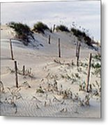The Sands Of Obx Metal Print