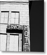 The Savoy Hotel Metal Print