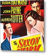 The Saxon Charm, Us Poster, From Left Metal Print