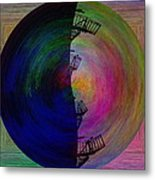 The Scape Metal Print