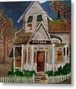 The Scary Neighbor Metal Print