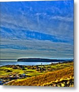 The Scenic Chambers Bay Golf Course II - Location Of The 2015 U.s. Open Tournament Metal Print