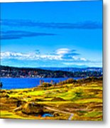 The Scenic Chambers Bay Golf Course Iv - Location Of The 2015 U.s. Open Tournament Metal Print