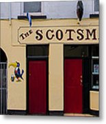 The Scottsmans Bar - Donegal Ireland Metal Print